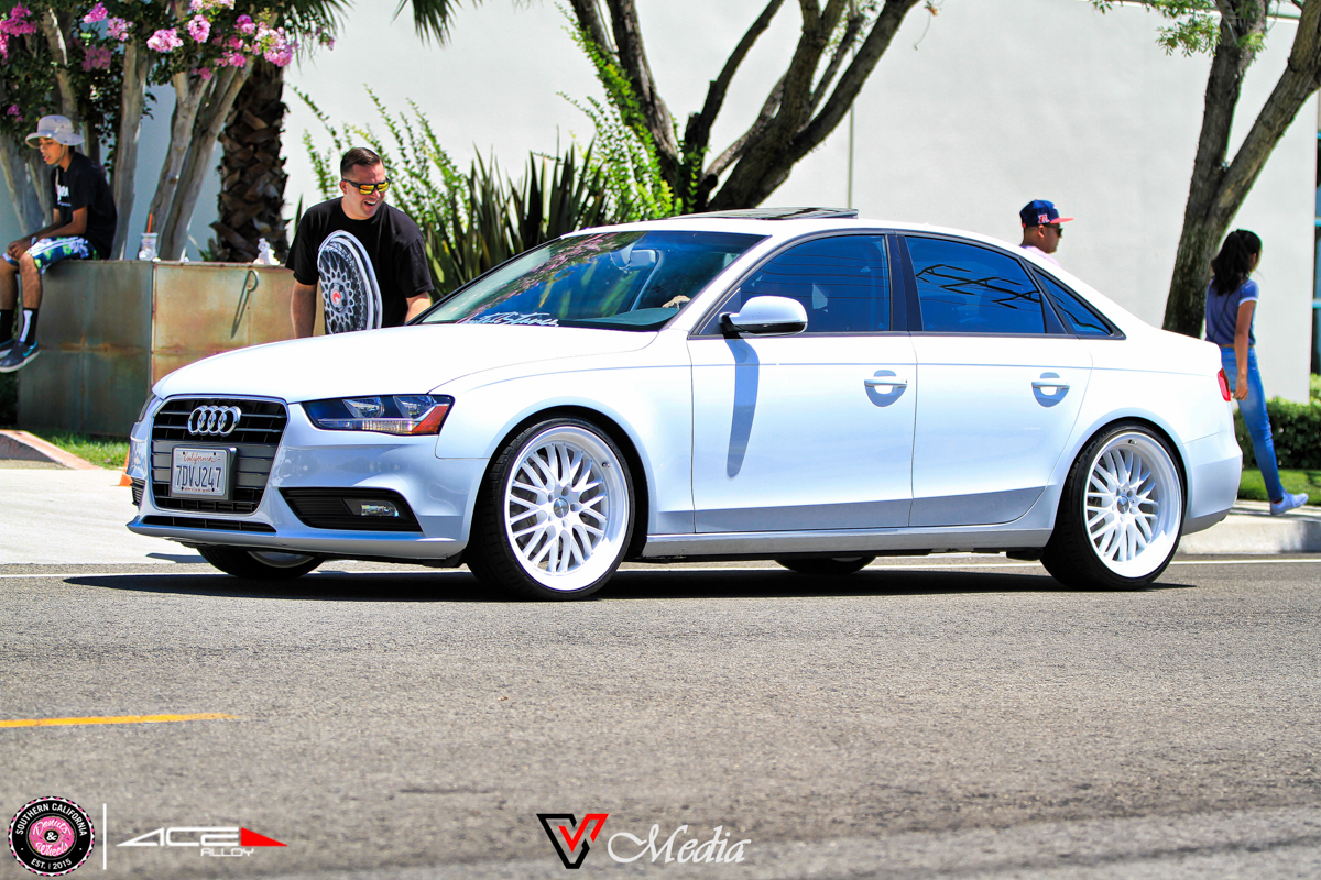 Donuts & Wheels 2015-ACE Custom Wheel BMW AUDI A4 wheels