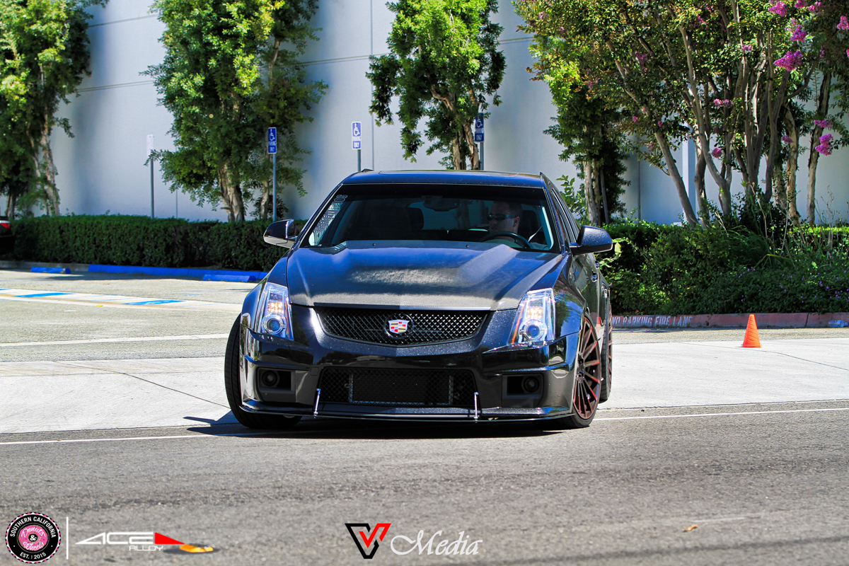 Donuts & Wheels 2015-ACE Custom Wheel for Cadillac CTS-V avail.