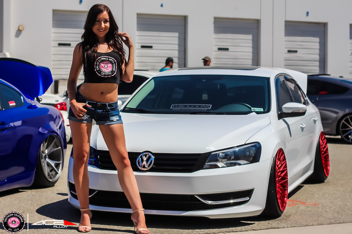Donuts & Wheels 2015-ACE Custom Wheel for VW Golf Jetta Passat avail.