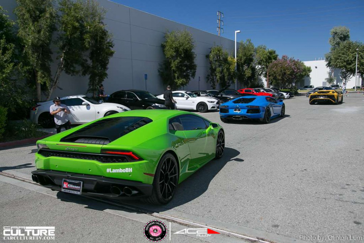 Donuts & Wheels 2015-ACE AMF Custom Wheel for Lamborghini avail.