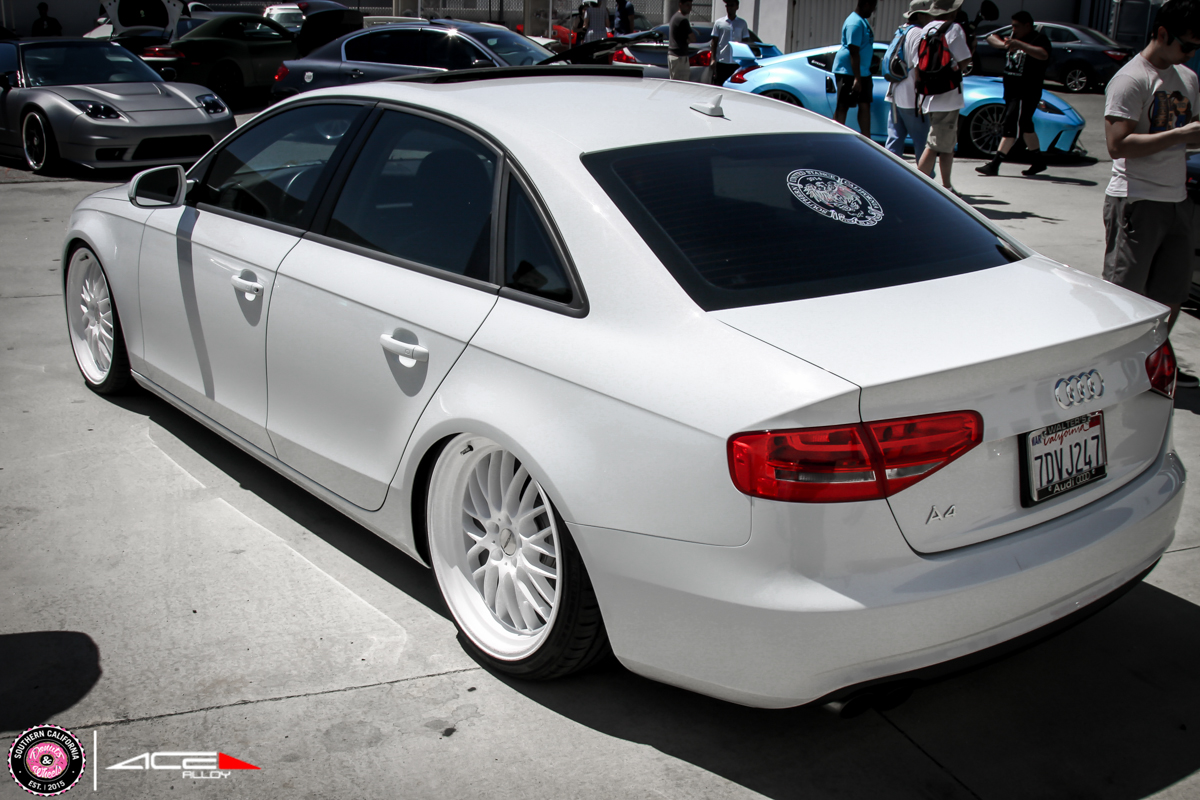 Donuts & Wheels 2015- ACE Custom Wheel for AUDI A4 avail.