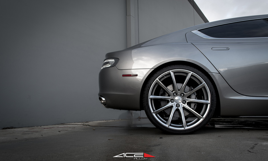"ACE 22"" Convex Hypersilver Machine Face D704 Aston Martin Rapide"