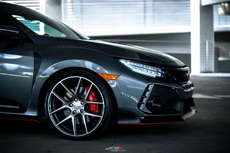 "ACE Alloy 20"" Aftermarket Wheels Honda Civic Type R FK8"