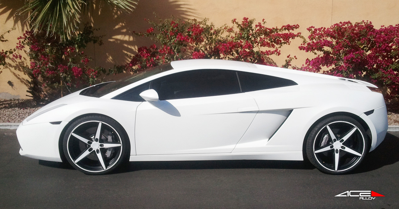 "20"" wheel White Couture C903 Lamborghini Gallardo avail. black"