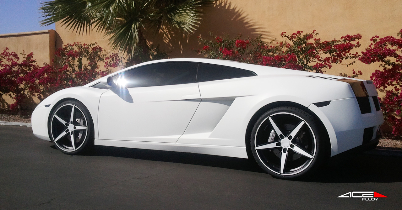 "20"" wheel White Couture C903 Lamborghini Gallardo"