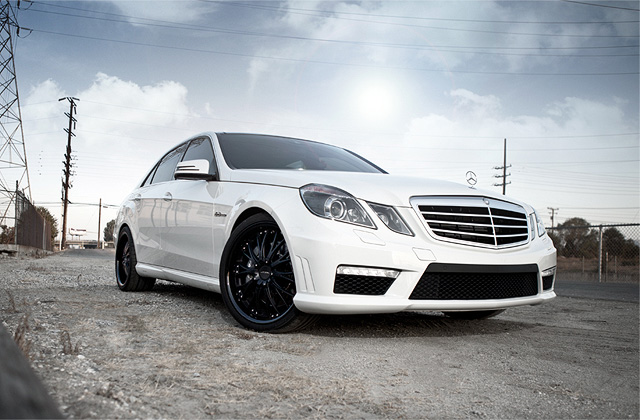 "20"" wheel Matte Black Eminence D709 Mercedes-Benz E63 AMG"