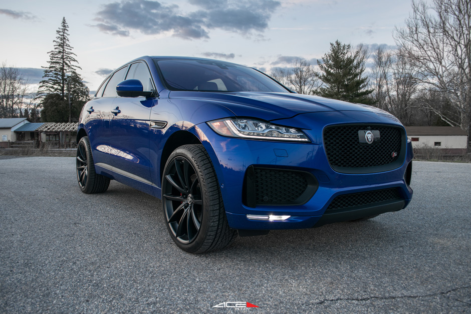 Jaguar F Pace Ace Alloy Convex D704 Aftermarket Wheels