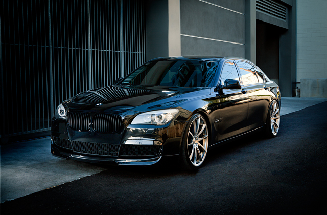 Bmw 7 Series W 22 22x9 Front 22x10 5 Rear Hyper Black