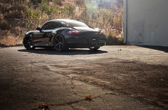 "20"" wheel Matte Black Couture Porsche Cayman S avail. silver"