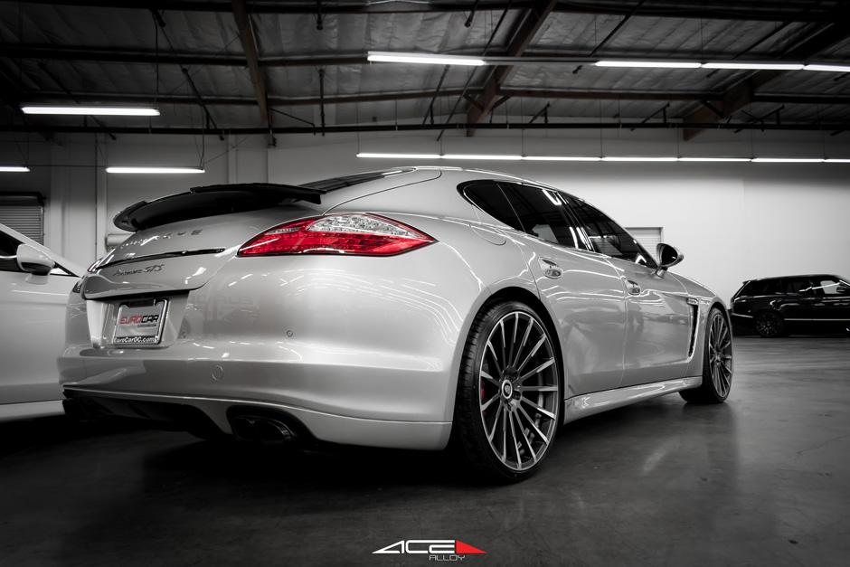 Porsche Panamera Devotion Amp Mesh7 22 Quot Mica Gray W