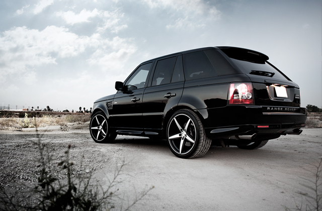 "22"" wheel Black Couture Land Rover Range Rover Sport"