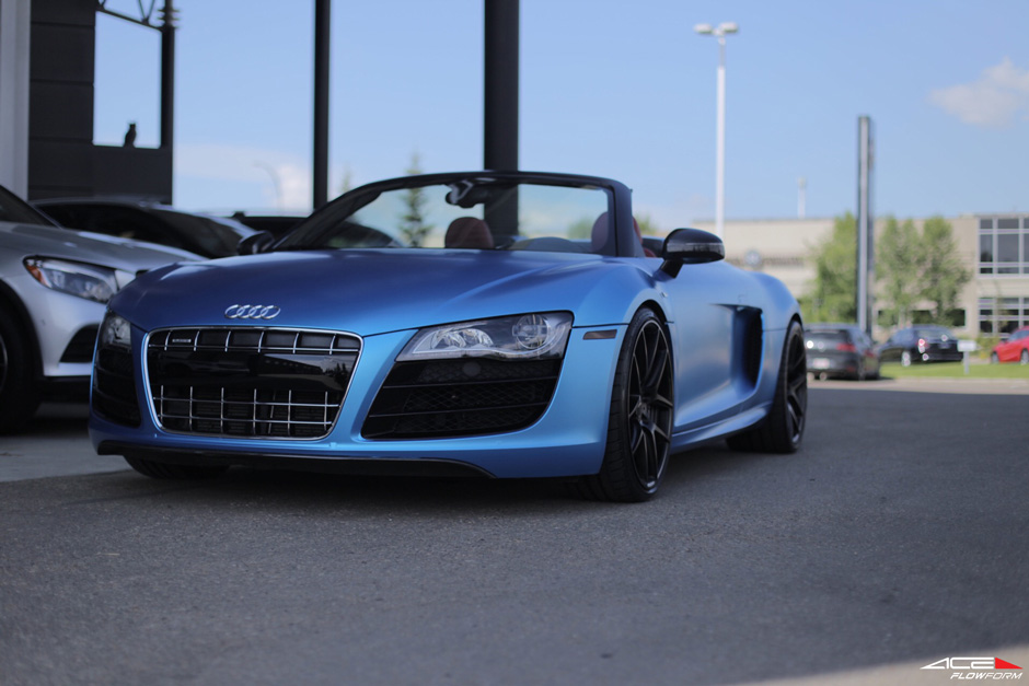Satin_Blue_Audi_R8_Ace_Flowform_AFF02_Matte_Black