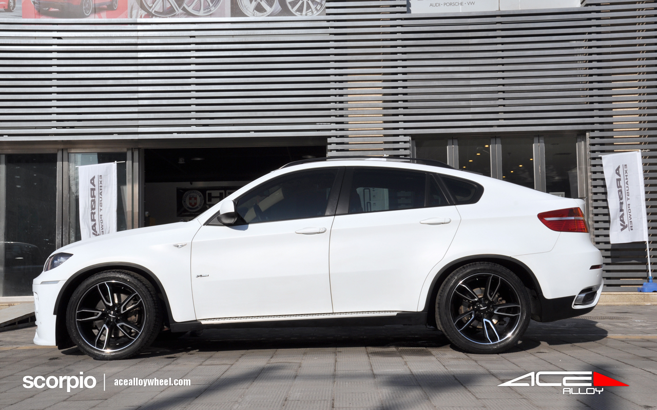 "20"" wheel black scorpio C902 BMW X6 avail.White"