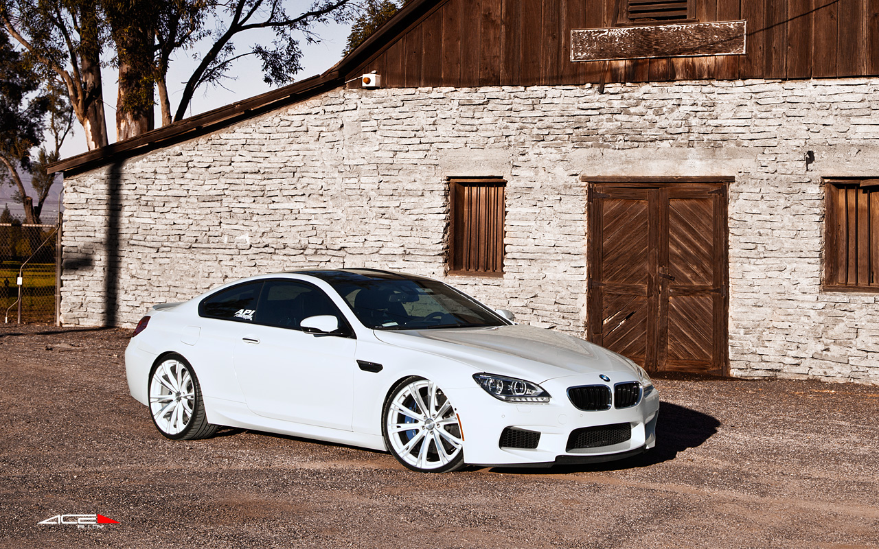 "22"" wheel Matte White Aspire C915 BMW M6 avail. silver"
