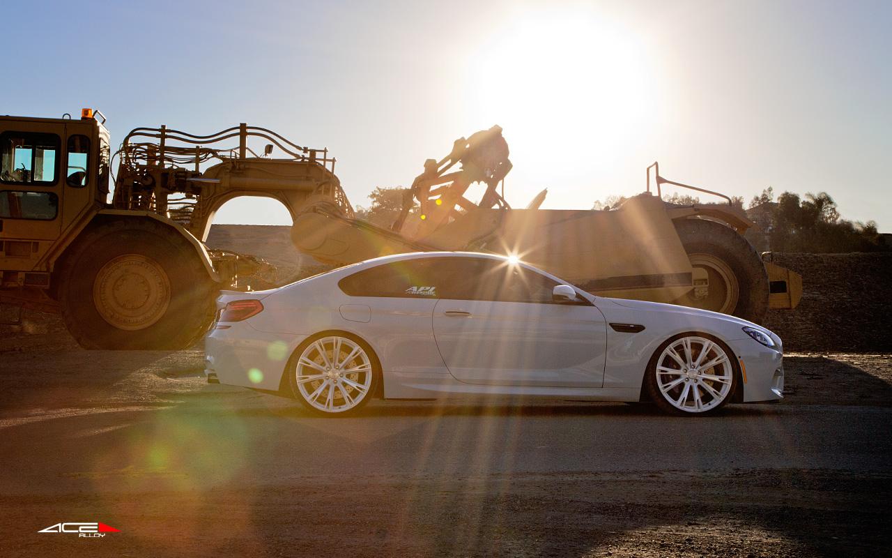 "22"" wheel Matte White Aspire C915 BMW M6 avail. Black"
