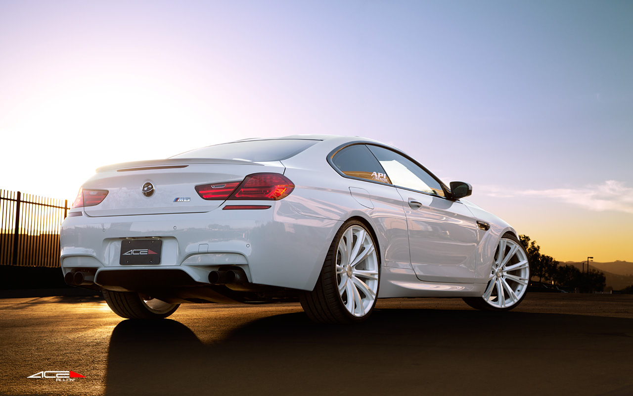 "22"" wheel Matte White Aspire C915 BMW M6 avail. Grey"
