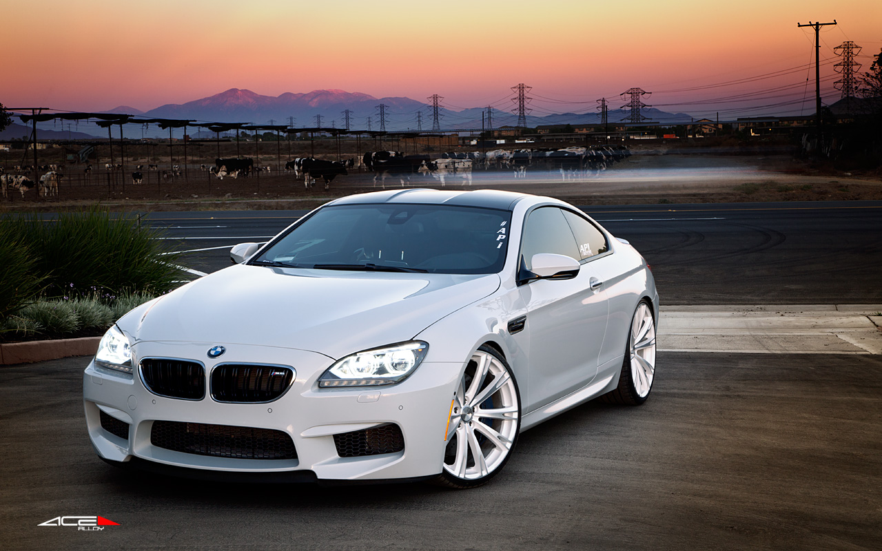 "22"" wheel Matte White Aspire C915 BMW M6"