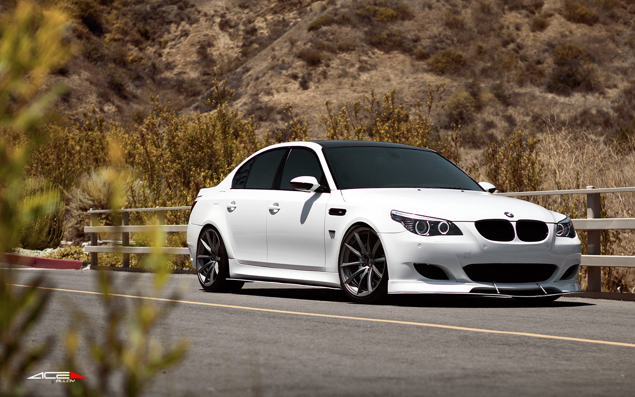 """20"""" wheel Titanium Convex D704 BMW M5"""