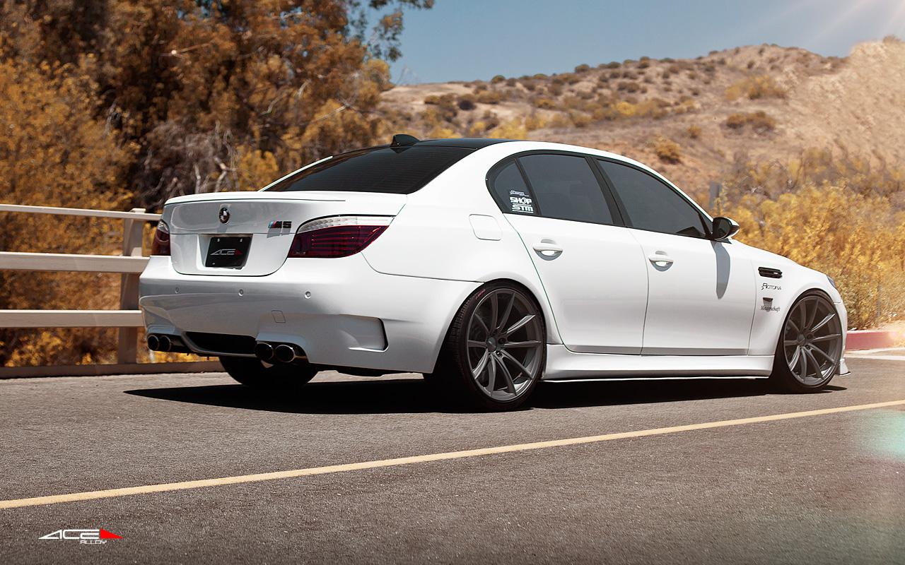 "20"" wheel Titanium Convex D704 BMW M5 avail. Black"
