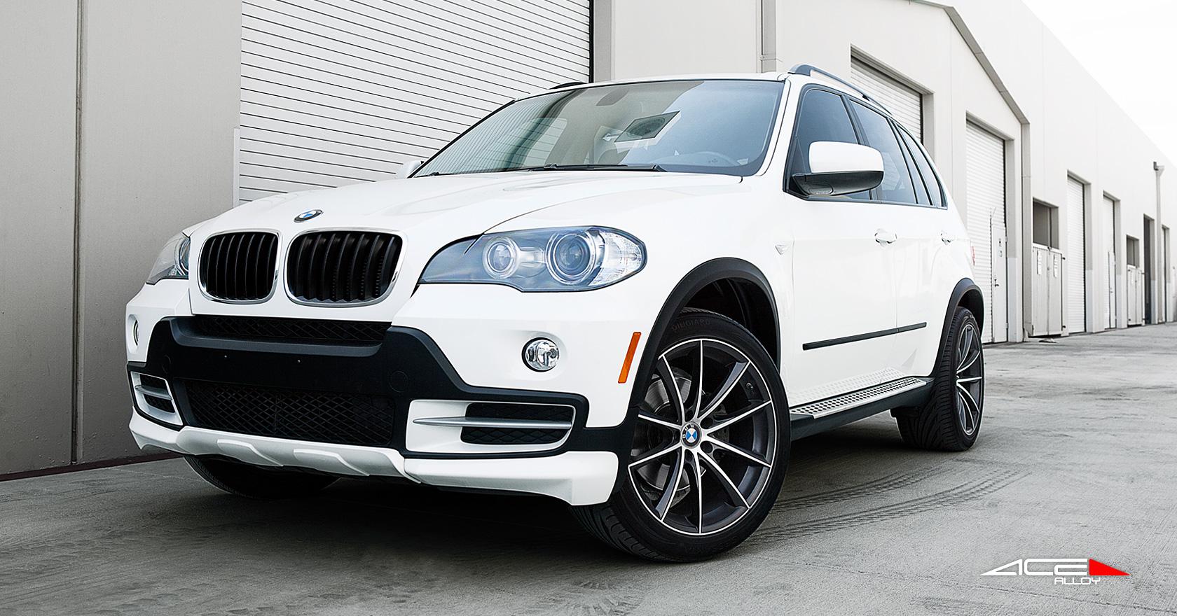 """20"""" wheel Matte Black Convex D704 BMW X5 avail. Silver/ Titanium"""