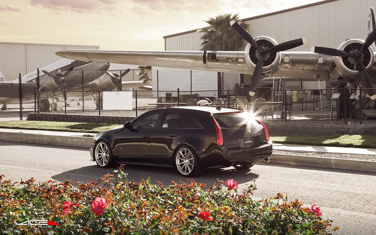 """20"""" wheel Matte Silver Convex D704 Cadillac CTS-V Wagon avail. Titanium"""