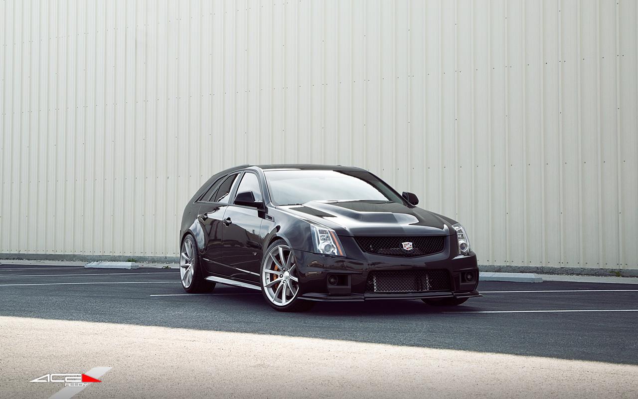 "20"" wheel Matte Silver Convex D704 Cadillac CTS-V Wagon avail. 18x7.5 / 19x8.5 / 19x10.0"