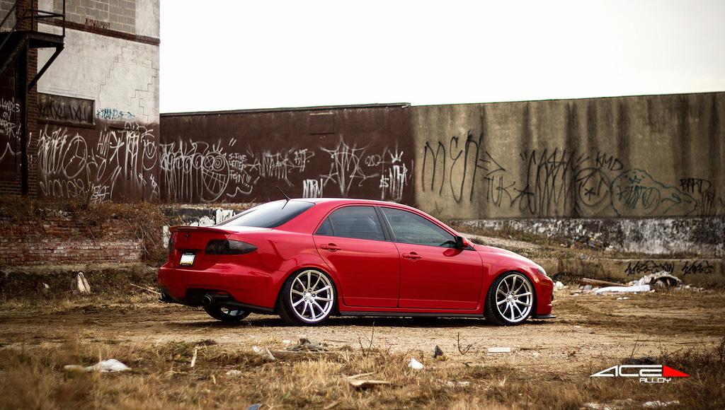 "19"" wheel Hypersilver Convex D704 Mazda MS6"