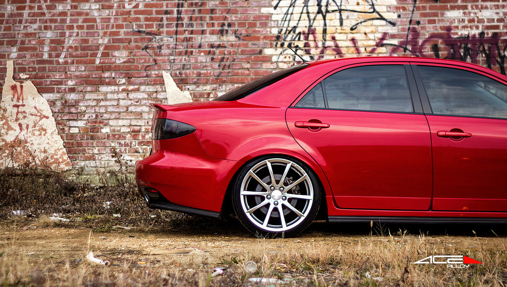 "19"" wheel Hypersilver Convex D704 Mazda MS6 avail. 22x9.0 / 22x10.5"