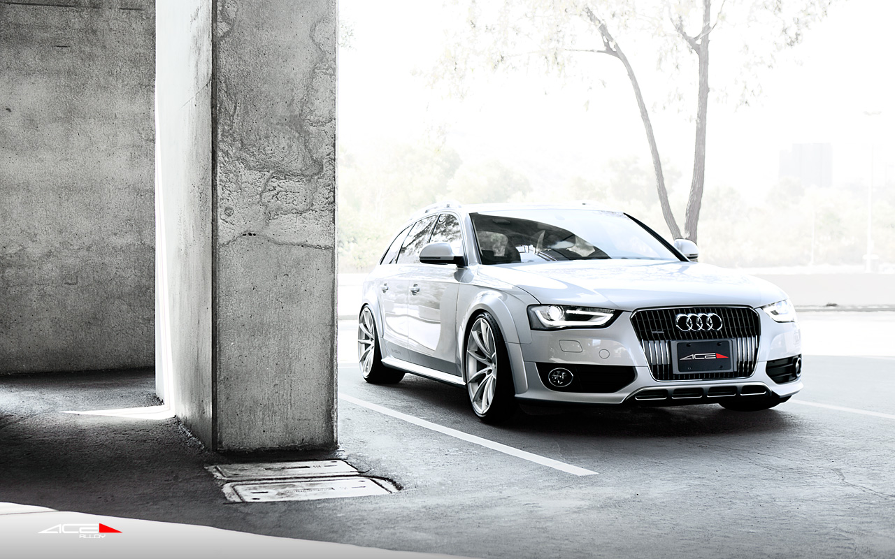 "20"" wheel Hyper Silver Convex D704 Audi Allroad avail. Silver"
