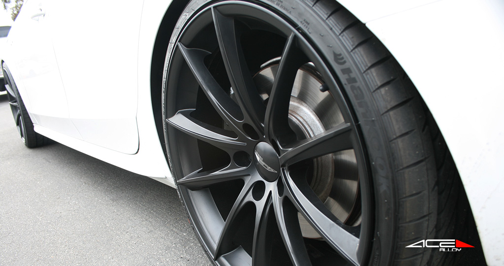 """20"""" wheel Matte Black Convex D704 Audi S4 avail. 20x8.5 / 20x9.0 / 20x10.0 / 20x10.5 / 22x9.0 / 22x10.5"""