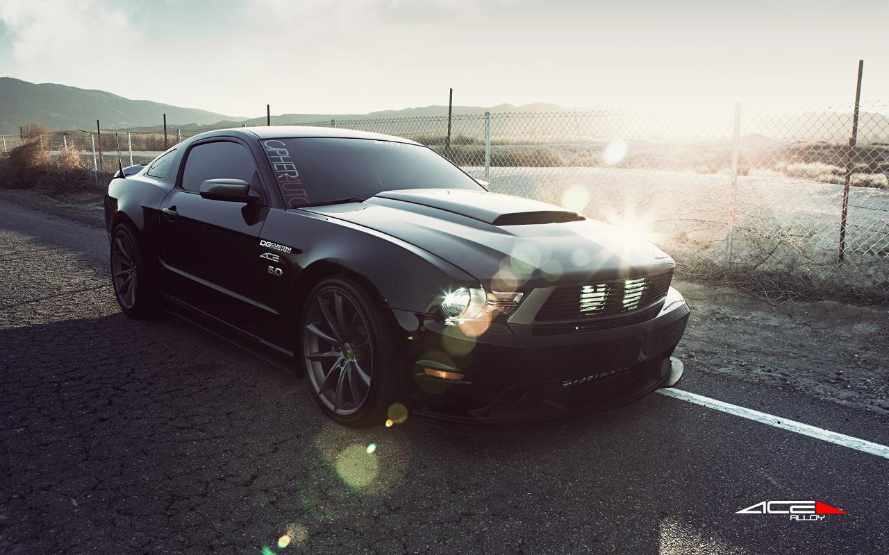 "20"" wheel Matte Black Convex D704 Camaro Mustang avail. Black"