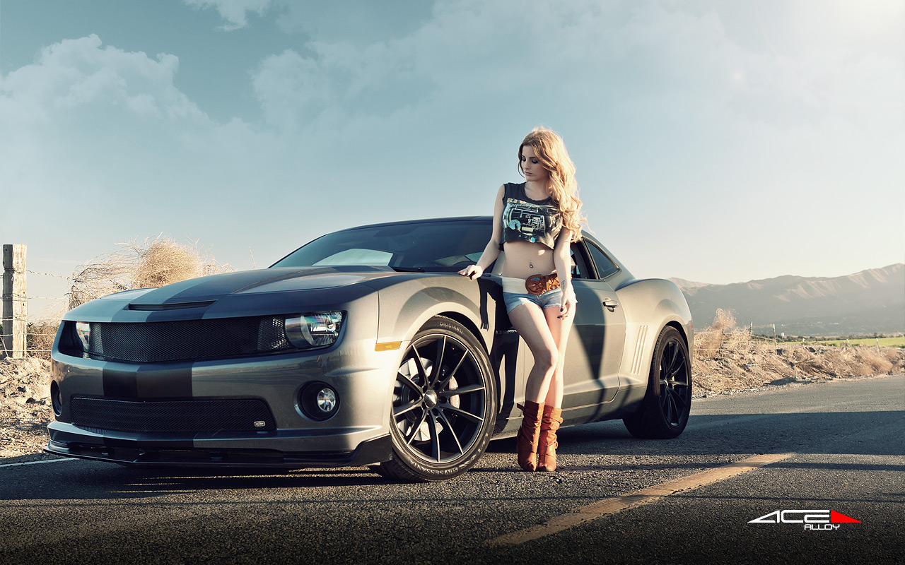 "20"" wheel Matte Black Convex D704 Camaro Mustang avail. 18x7.5 / 19x8.5 / 19x10.0"