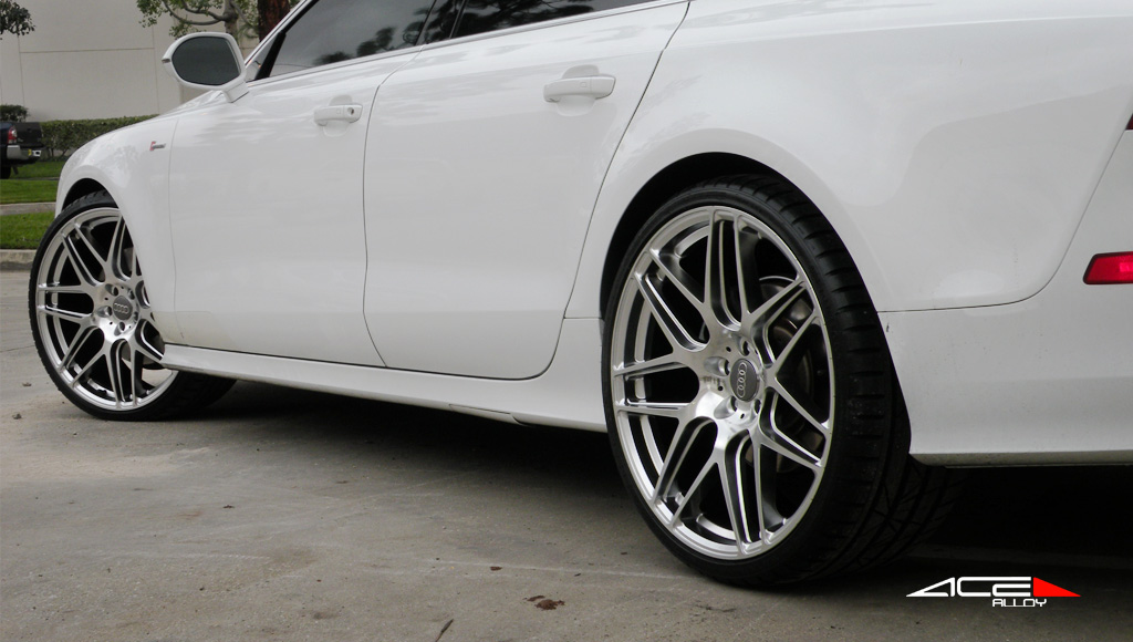 "22"" wheel Hypersilver Mesh-7 D707 Audi A7 avail. Grey"
