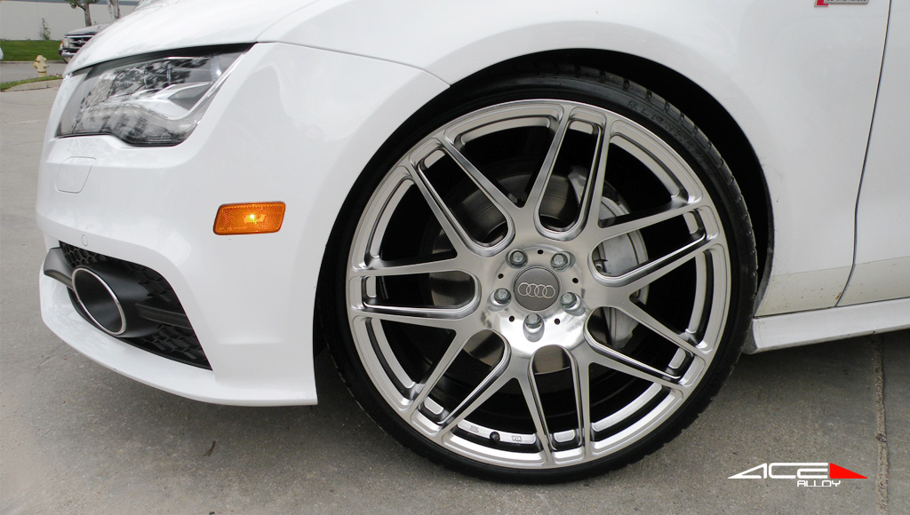 "22"" wheel Hypersilver Mesh-7 D707 Audi A7 avail. Black"