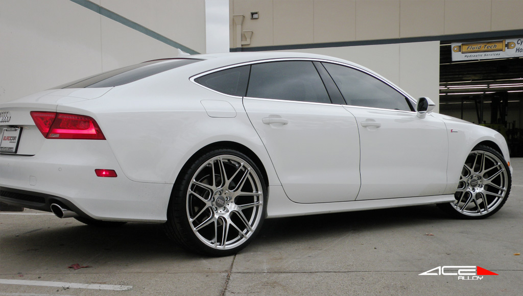 "22"" wheel Hypersilver Mesh-7 D707 Audi A7 avail. 19"", 20"""