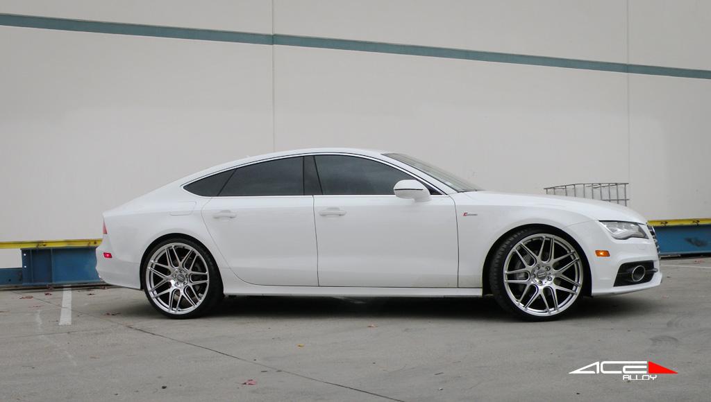 "22"" wheel Hypersilver Mesh-7 D707 Audi A7 avail. 21"", 22"""