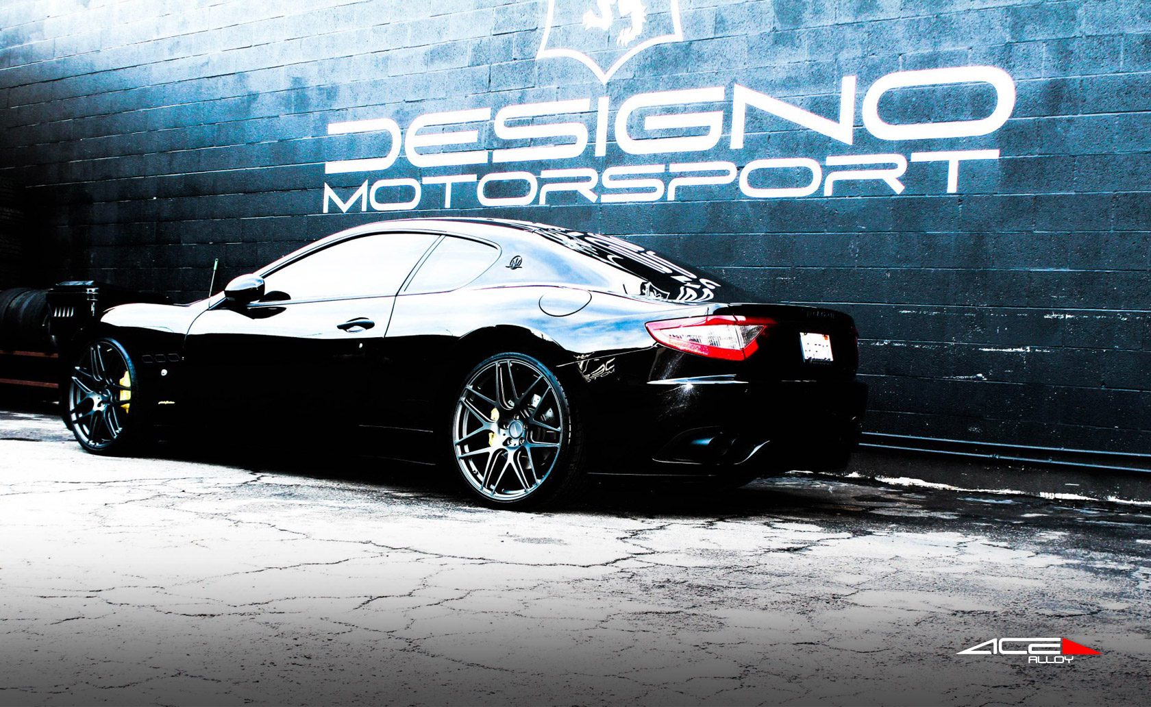 "22"" wheel Matte Mica Grey Mesh-7 D707 Maserati Gran Turismo avail. 19"", 20"" 21"", and 22"""