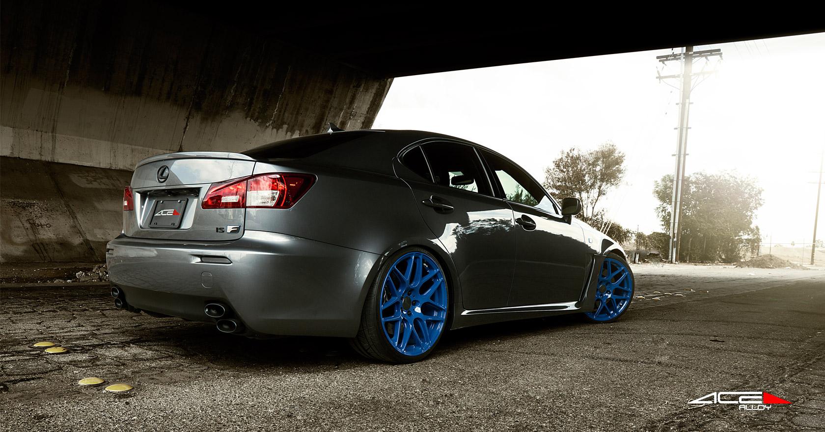 Black Friday Car Deals >> Lexus IS-F Sedan w/ 20 20x8.5 Front / 20x10 Rear Mica Grey ...
