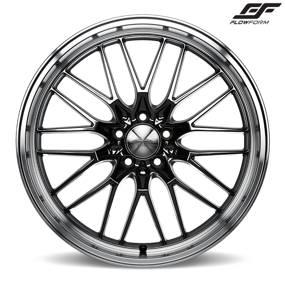 AFF04 V004 Black Chrome Machined Lip wheels & rims