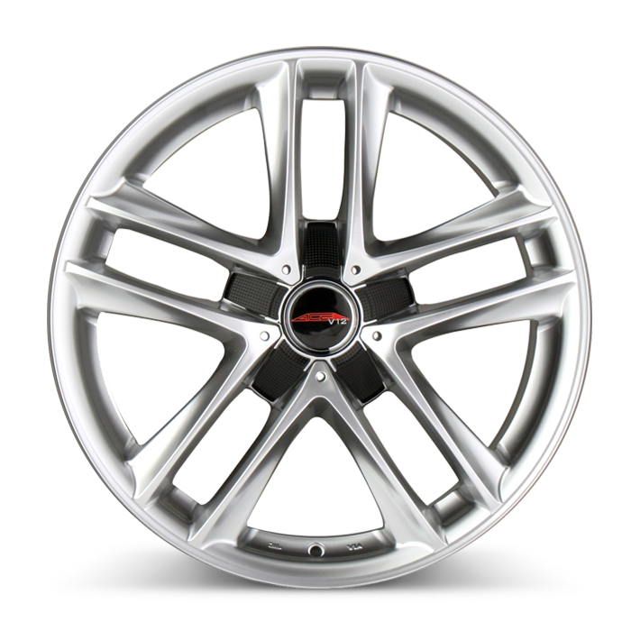 V12 D668 Hypersilver wheels & rims