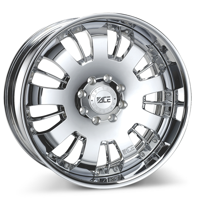 VOLT (2pcs) C811 Chrome wheels & rims
