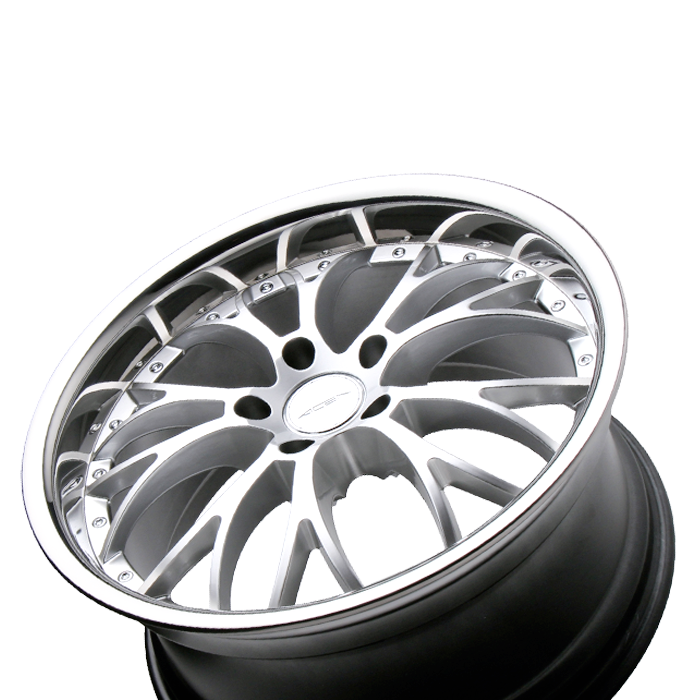 WEBB D682 Hypersilver with Stainless Steel Lip wheels & rims