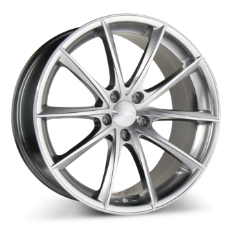 CONVEX D704 Hyper Silver Machined Face wheels & rims