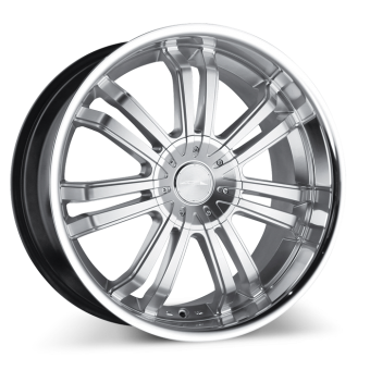 Devine C892 Hypersilver with Machined Lip wheels & rims