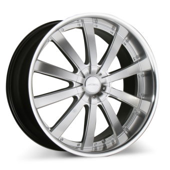 EXECUTIVE C853 Hypersilver with Machined Lip wheels & rims