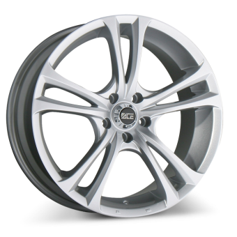 MANTA A205 Metallic Silver wheels & rims