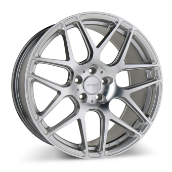 MESH 7 D707 Hypersilver with Machined wheels & rims