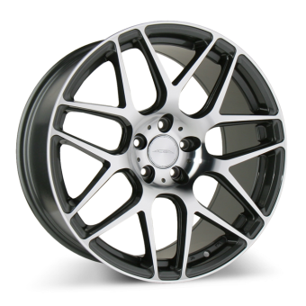 MESH 7 D707 Mica Gray with Machined wheels & rims