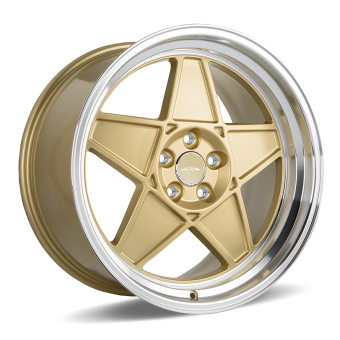 SL-5 Matte Center Gold Shining Machine Lip
