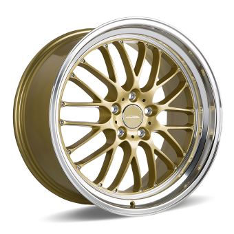 SL-M D715 Gold with Machined Lip